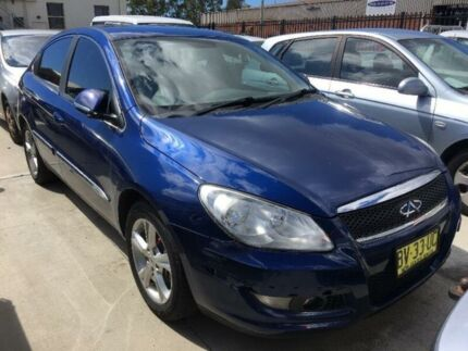 2013 Chery J3 M1X Blue 7 Speed Constant Variable Hatchback