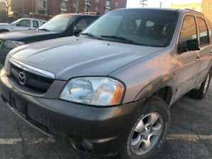 2002 Mazda Tribute 4x4 Saftied CERTIFIED No Rust Car Proof Clean