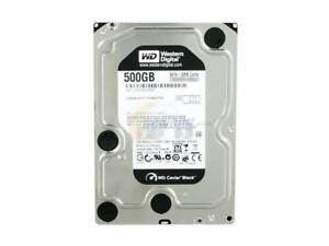 500GB Western Digital Black 7200 RPM SATA Hard Drive