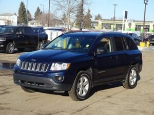 2013 Jeep Compass 4WD NORTH Accident Free,  Bluetooth,  A/C,