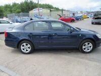 Skoda Octavia GREENLINE TDI CR 5d 104 BHP free road tax (blue) 2012