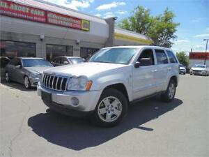 2007 JEEP GRAND CHEROKEE DIESEL 4X4 LIMITED **NAVI+CAMERA**