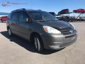 2004 TOYOTA SIENNA LE AUTOMATIQUE CLIMATISEE 7PASSAGERS PROPRE