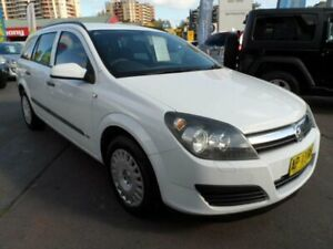 2006 Holden Astra AH MY06.5 CD White 4 Speed Automatic Wagon Rockdale Rockdale Area Preview