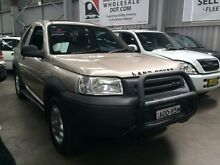 2003 Land Rover Freelander ES (4x4) Cashmere 5 Speed Auto Steptronic Softtop Macquarie Hills Lake Macquarie Area Preview