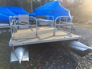 2 USED PONTOON BOATS LEFT $3495-$3995