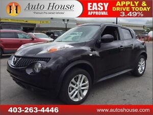 2014 Nissan JUKE SL HEATED LEATHER EVERYONE APPROVED!!