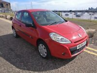 09 Renault Clio 1.2 petrol 44200 miles only long mot £1599