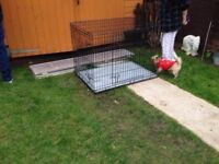 Huge Excellent Heavy Duty Dog Cage In Great Condition Only £45