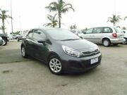 2014 Kia Rio UB MY14 S Grey 6 Speed Manual Hatchback Heatherton Kingston Area Preview
