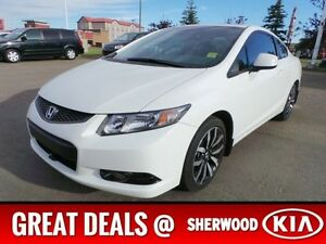 2013 Honda Civic Cpe EXL 2 DOOR COUPE Navigation (GPS),  Leather