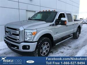 2015 Ford F-350 Lariat Platinum package DIESEL $399.25 b/weekly