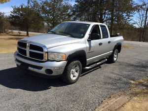 2003 DODGE RAM 4X4 QUAD CAB PARTING OUT