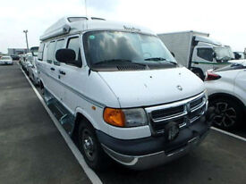FRESH IMPORT DODGE RAM RV ROADTREK, ASTRO EXPRESS PETROL 4 BERTH CAMPER DAY VAN