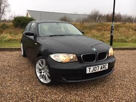 "BMW 116 1.6 2007 ES 5 DOOR *LOW MILES, 18"" M-SPORT ALLOYS, STUNNING CAR*"