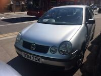 VOLKSWAGEN POLO 1.4 TWIST PETROL MANUAL ****£1395***ideal 1st time buyer