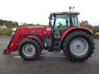 2011 Massey 6480 Dyna 6 with MF975 Loader