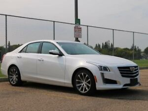 2016 Cadillac CTS AWD CRYSTAL WHITE 3.6L V6 REMOTE START
