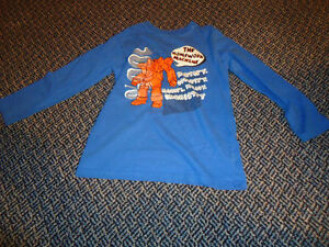 Boys Size 7/8 Blue Long Sleeve T-Shirt by ***Children's Place***