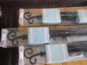 Decorative Curtain Rods...New Price!!