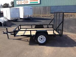"New 2016 Cam Superline 63"" x 8' Utility Trailers"