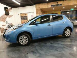 2013 Nissan Leaf ZE0 Blue Reduction Gear Hatchback Perth Perth City Area Preview
