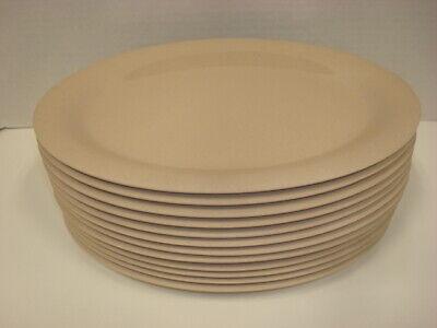 G.e.t. Op-120 Tahoe Sandstone 12 X 9 Oval Plate Op120 - Nsf - 1 Dozen Nice