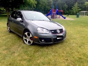 2007 VW GOLF GTI GREY ON BLACK LEATHER GREAT DEPENDABLE CAR