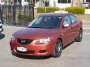 2004 Mazda 3 BK Neo Orange 5 Speed Manual Sedan Brendale Pine Rivers Area Preview