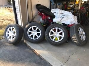 """Full Size GMC and Chev 18"""" 6-lug Wheels and Tires"""