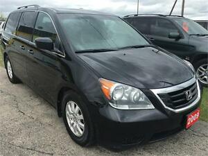 2009 HONDA ODDYSEY EX-L,DVD,LEATHER,BLUETOOTH,CALL 204-509-0008
