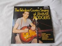 Vinyl LP The Fabulous Country Singing Of Jimmie Rodgers Contour 2870 331 Stereo Dot Recording