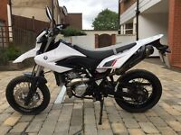 WR 125 2014 in excellent condition for sale £2800