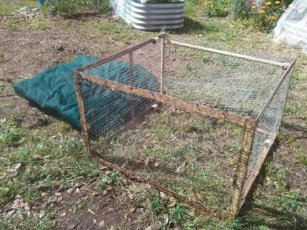 Steel rabbit/guinea pig cage Gawler Gawler Area Preview
