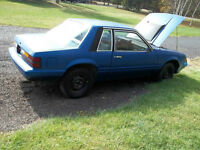 1985 Mustang *SHELL ONLY*