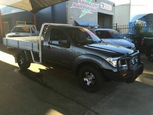 2010 Nissan Navara D40 RX (4x4) Silver 6 Speed Manual Cab Chassis Toowoomba Toowoomba City Preview