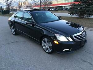 2010 MERCEDES-BENZ E350 4MATIC*NO ACIDENT*CAMERA*PANO*BLINDSPOT