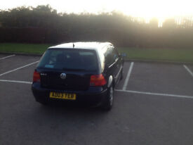 VW Golf 1.4 (2003) in good condition - MOT Until July 2018 - Cambelt changed at 70k miles.