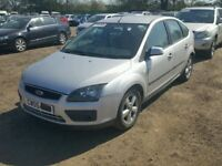 Ford Focus 1.6 Zetec 5dr silver (04 - 06) breaking for parts