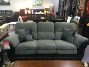 BRAND NEW CANADIAN MADE 3 PC SOFA SET ON SALE (2 COLOUR OPTIONS)