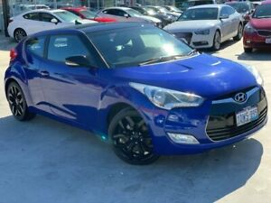 2011 Hyundai Veloster FS Coupe Blue 6 Speed Manual Hatchback Palmyra Melville Area Preview