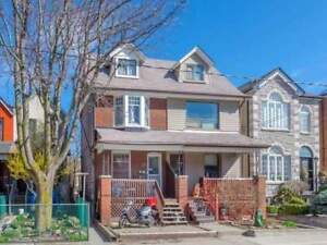 Cozy 4 Bdrm Semi-Detached Home In Great Christie Pits Location