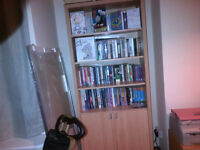 Bookcase with lower cupboard - very good condition - must go ASAP