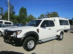 2011 Ford Ranger PK XL Super Cab White 5 Speed Manual Cab Chassis Noosaville Noosa Area Preview