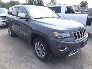 2014 Jeep Grand Cherokee Limited 4x4 LEATHER NAVI SUNROOF