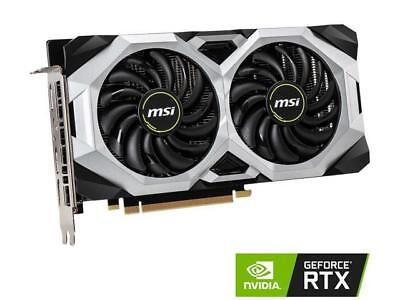 MSI GAMING GeForce RTX 2060 6GB GDRR6 192-bit HDMI/DP Ray Tracing Turing Architecture VR Ready Graphics Card (RTX 2060 VENTUS 6G OC)