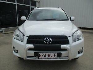 2009 Toyota RAV4 White Manual Ayr Burdekin Area Preview