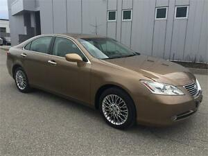 2008 LEXUS ES350 LEATHER SUNROOF 174KM BROWN BLACK