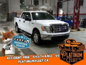 2010 Ford F-150 XLT - ACCIDENT FREE - ONLY 64,674 KMS!! - 4x4