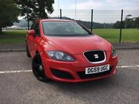 Seat Leon 1.9TDI DPF Ecomotive S 2009/59 *FR ALLOY WHEELS, NEW MOT & SERVICE*